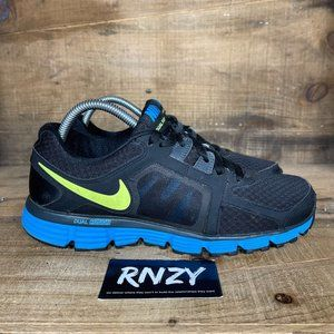 Nike Dual Fusion ST2 Black Volt Athletic Sneakers
